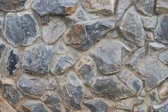 Pared natural de la roca Fotografía de archivo