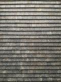 Pared negra de la teja Fotografía de archivo libre de regalías