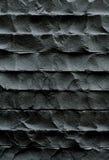 Pared negra, textura de piedra Foto de archivo libre de regalías