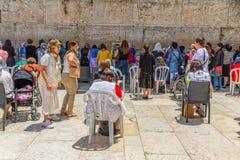Pared occidental Jerusalén Imagen de archivo libre de regalías