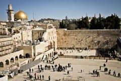 Pared occidental, Jerusalén, Israel Imagen de archivo