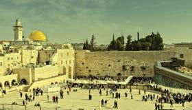Pared occidental, Jerusalén Imagen de archivo libre de regalías