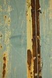 Pared oxidada Foto de archivo libre de regalías