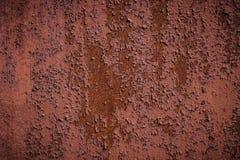 Pared oxidada de la cerca con los puntos borrosos textura del divorcio fotos de archivo