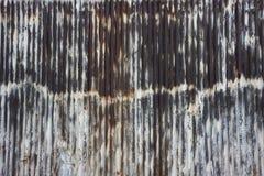 Pared oxidada del metal Fotografía de archivo libre de regalías