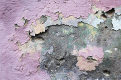 Pared pintada cemento Imagen de archivo libre de regalías