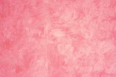 Pared pintada Faux rosado fotografía de archivo libre de regalías