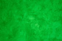 Pared pintada Faux verde fotos de archivo