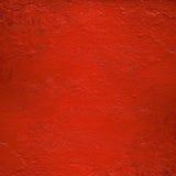 Pared pintada lustre rojo Fotografía de archivo