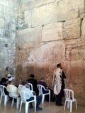 Pared que se lamenta, Jerusalén Foto de archivo libre de regalías