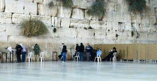 Pared que se lamenta Jerusalén Israel Fotografía de archivo libre de regalías