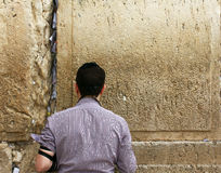 Pared que se lamenta (pared occidental) Imagen de archivo