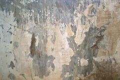 Pared resistida del cemento Foto de archivo