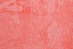 Pared retra roja pintada Fotos de archivo