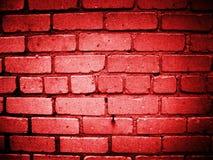 Pared roja imagen de archivo