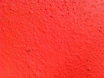 Pared roja Fotos de archivo libres de regalías