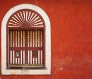 Pared roja 2 Fotografía de archivo libre de regalías
