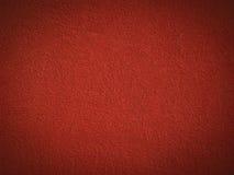 Pared roja de la pintura del grano Imágenes de archivo libres de regalías