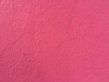 Pared roja del cemento Fotos de archivo