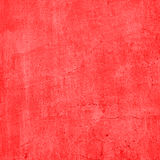 Pared roja del cemento del vintage fotos de archivo libres de regalías