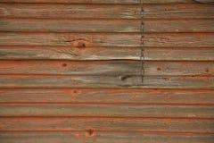 Pared roja descolorada 1 foto de archivo libre de regalías