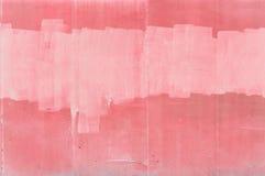 Pared rosada Fotos de archivo
