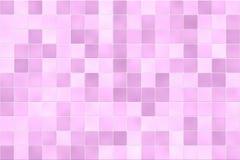Pared rosada del azulejo Foto de archivo libre de regalías