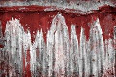 Pared sangrienta Fotos de archivo