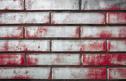Pared sangrienta Imagen de archivo libre de regalías
