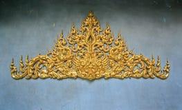 Pared tailandesa de la configuración Imágenes de archivo libres de regalías
