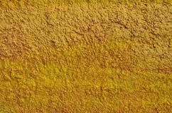 Pared texturizada amarillo Imagen de archivo libre de regalías