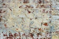 Pared texturizada vieja del ladrillo Foto de archivo