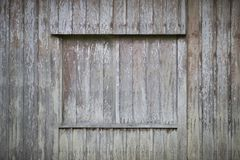 Pared tradicional de madera de pino de Japón Fotos de archivo libres de regalías
