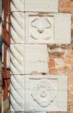 Pared veneciana vieja Fotografía de archivo