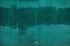 Pared verde foto de archivo libre de regalías