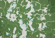 Pared verde Imagen de archivo libre de regalías