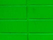 Pared verde del cemento Imagenes de archivo