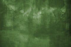 Pared verde del grunge Fotografía de archivo libre de regalías