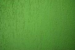 Pared verde para el fondo imagenes de archivo