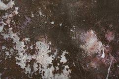 Pared vieja con la pintura agrietada Imagenes de archivo