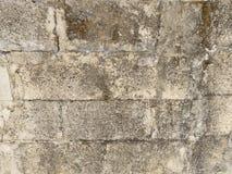 Pared vieja de bloques Foto de archivo