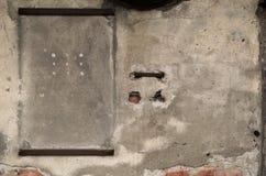Pared vieja de la casa Foto de archivo libre de regalías
