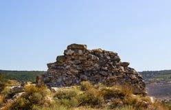 Pared vieja de la fortaleza Imagen de archivo