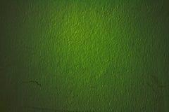 Pared vieja de un ladrillo verde Fotos de archivo libres de regalías