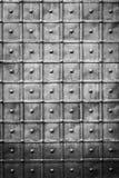 Pared vieja del metal Imagen de archivo
