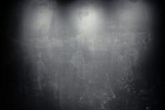 Pared vieja del negro del grunge Fotos de archivo libres de regalías