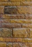 Pared vieja hecha de la piedra arenisca, hermoso diseño para el fondo Foto de archivo