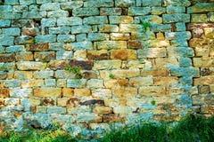 Pared vieja, medieval de la abadía Fotografía de archivo libre de regalías
