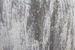 Pared vieja Puerta del metal de la textura fue pintado en gris oscuro ropa ligera Foto de archivo libre de regalías