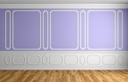 Pared violeta en fondo arquitectónico del sitio vacío clásico del estilo libre illustration